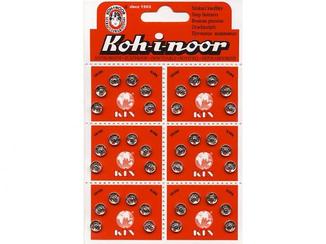 Druckknopf Koh-i-noor Metall Nr. 0332, Größe 1/2