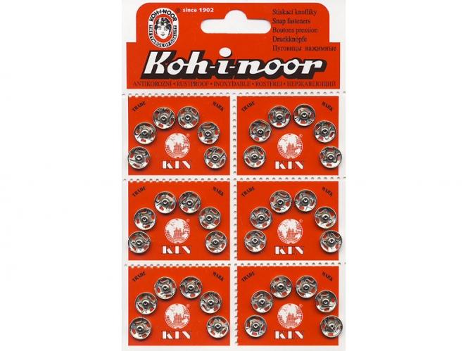 Druckknopf Koh-i-noor Metall Nr. 0613, Größe 2