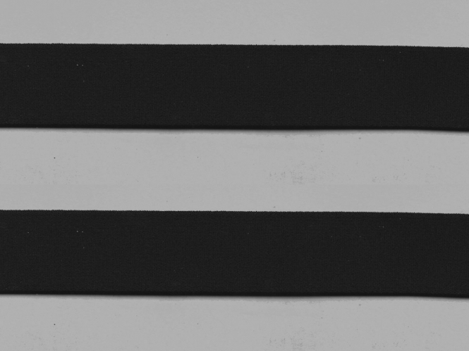 Elastikband - Sport-Gummiband weich Nr. 7100-30s, Farbe schwarz
