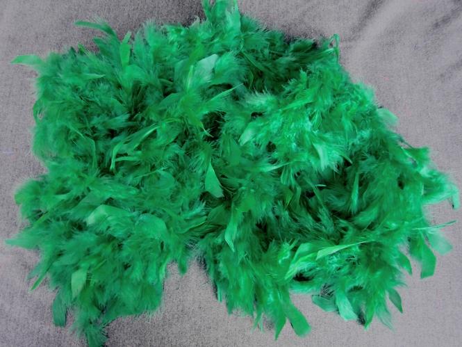 Federboa uni 7417-16, Farbe grün