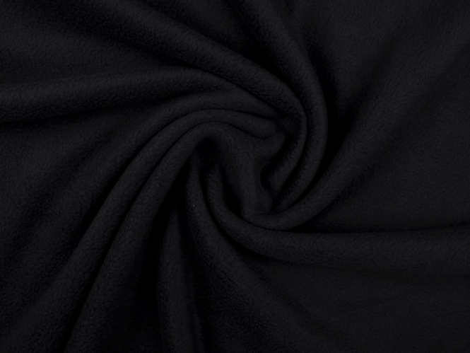 Fleecestoff - Polarfleece L718-999x schwarz