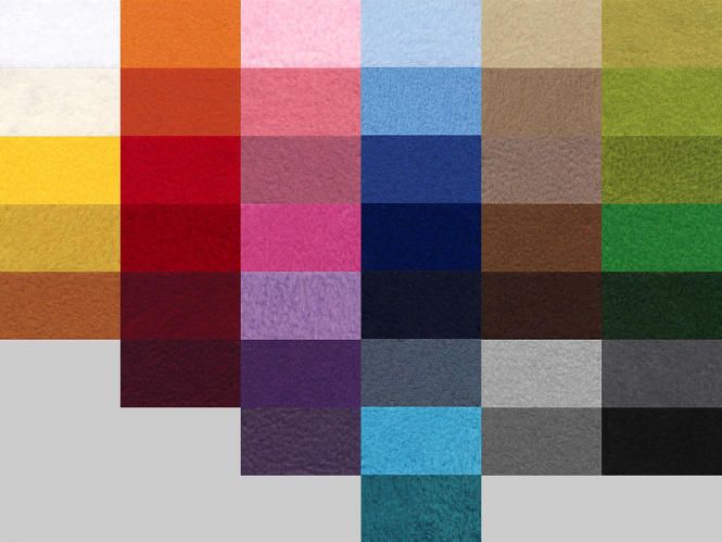 Fleecestoff - Polarfleece L718-015, Farbe 015 orange