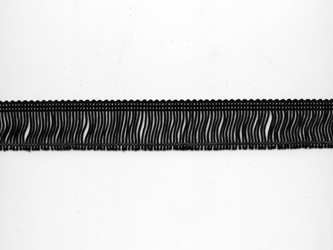 Fransenborte schwarz 8547-03, Breite ca. 3 cm