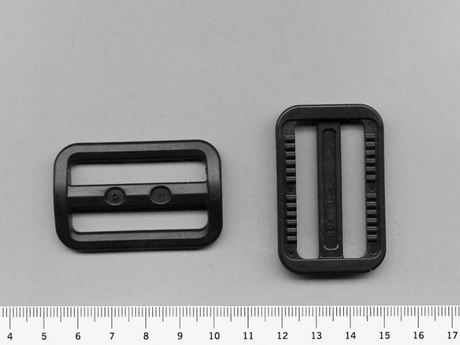 Gleitschnalle Nr. 0651-40 schwarz, Gurtbreite bis ca. 40 mm