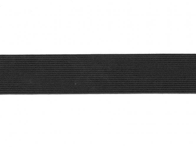 Gummiband geflochten schwarz Nr. 54005-30s