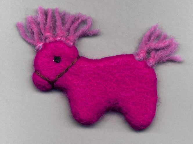 Jim Knopf Filz-Hotte pink Nr. 12329-03