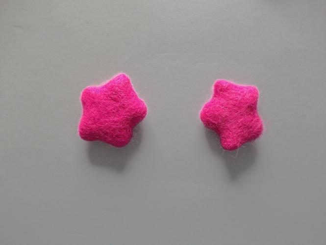 Jim Knopf Filzstern klein Nr. 12335-54-06, Farbe 06 pink