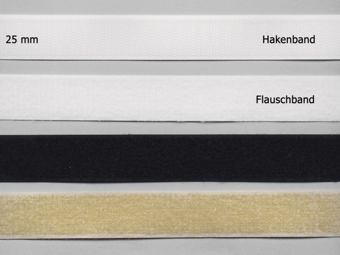 Klettband Standard zum Annähen Nr. 91667-FH, Flausch- und Hakenband