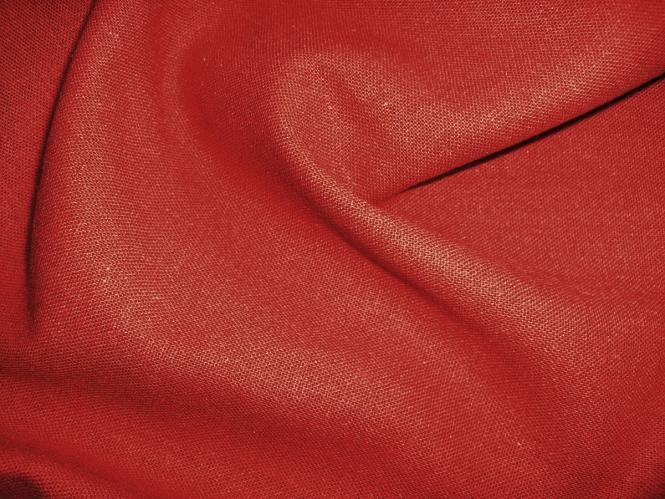 Leinen-Viskosestoff LV80301-010, Farbe 010 rost