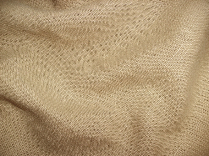 Leinenstoff Barcelona L733-080, Farbe 080 hellbraun