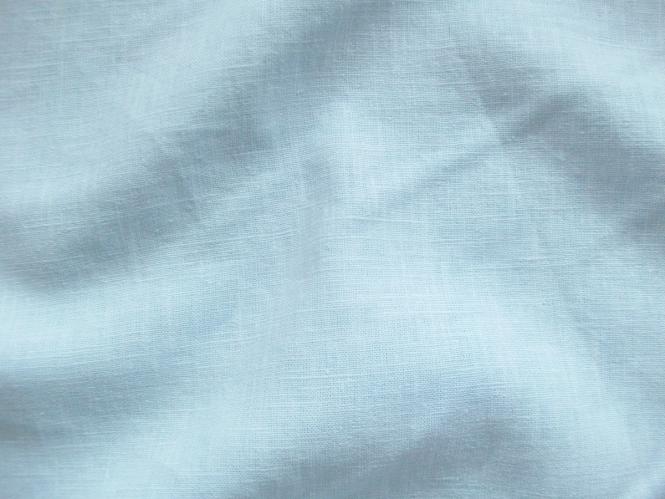 Leinenstoff Barcelona L733-663, Farbe 663 hellblau