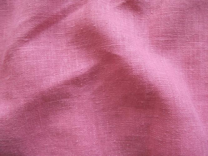 Leinenstoff Barcelona L733-885, Farbe 885 rosa