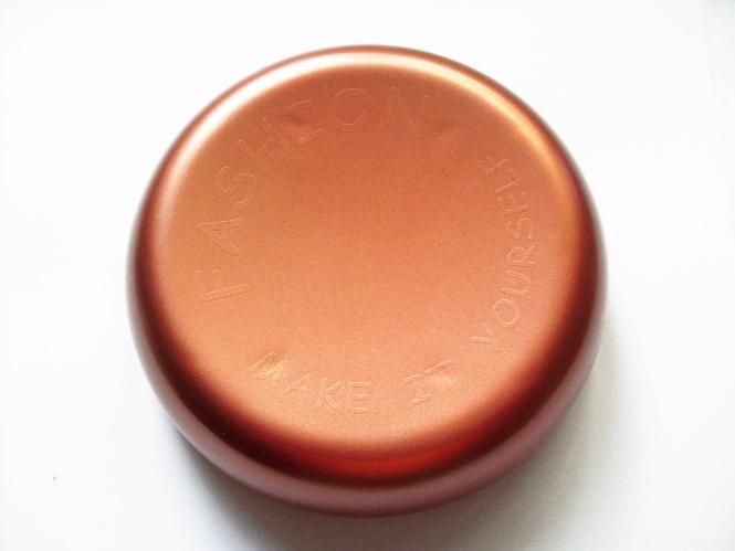 Magnetnadelkissen rund in kupfer