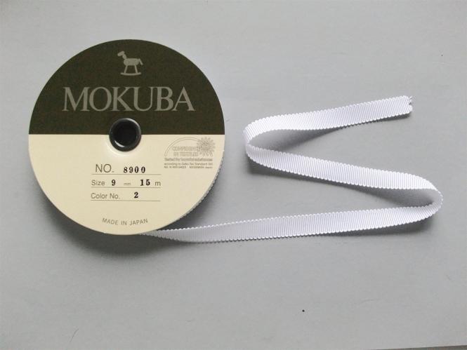 Mokuba Grossgrain Ribbon Nr. 8900-9-00