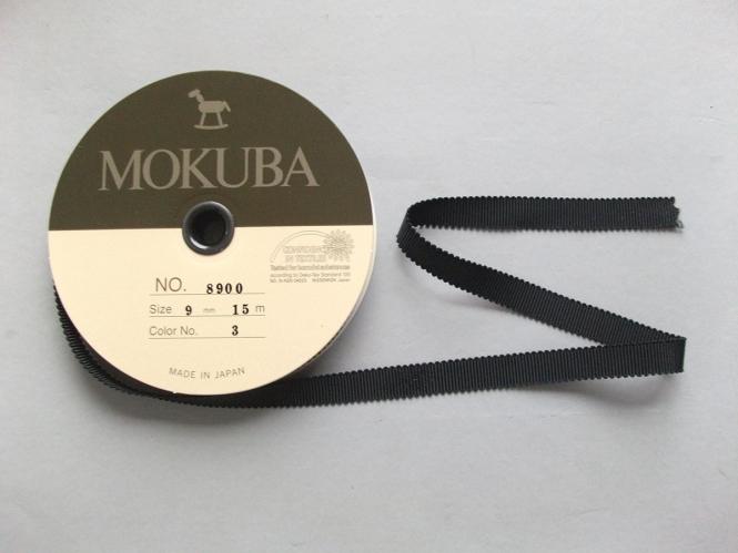 Mokuba Grossgrain Ribbon Nr. 8900-9-3
