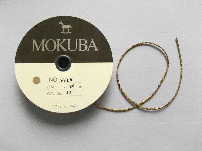 Mokuba Metallic Cord Nr. 9818-43
