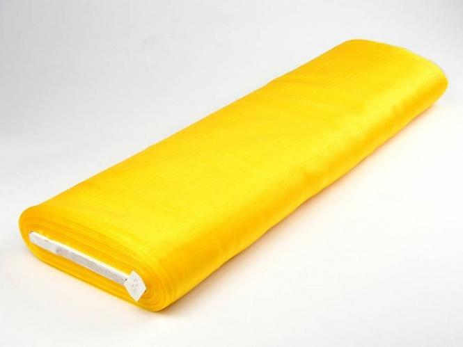 Organzastoff - Organza uni L720a-03, Farbe 03 gelb