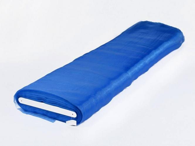 Organzastoff - Organza uni L720a-09, Farbe 09 königsblau