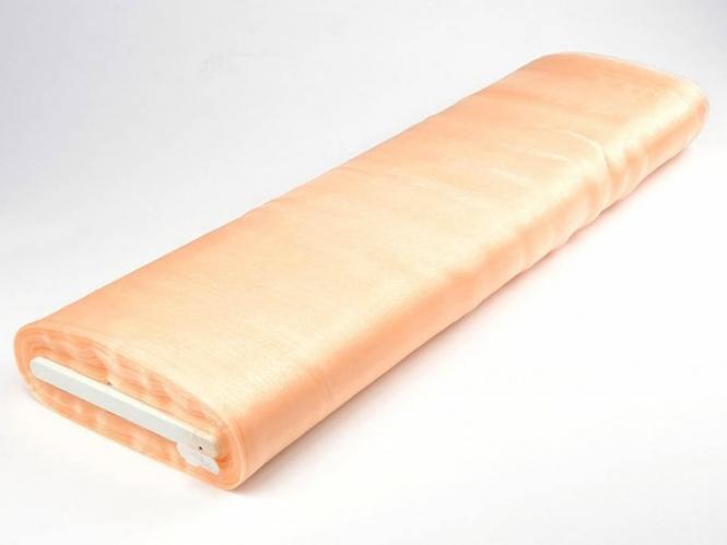 Organzastoff - Organza uni L720a-10, Farbe 10 lachs