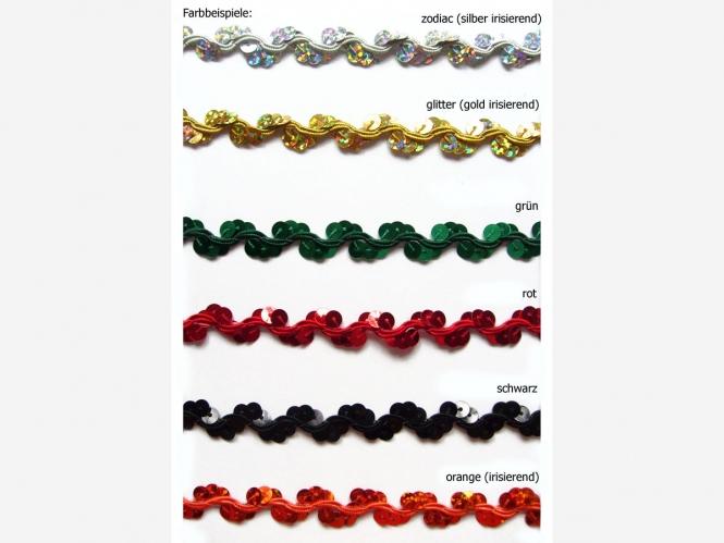 Paillettenband zick-zack Nr. 9369