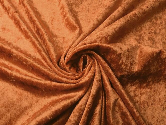 Pannesamt uni L724-09, Farbe 09 kupfer