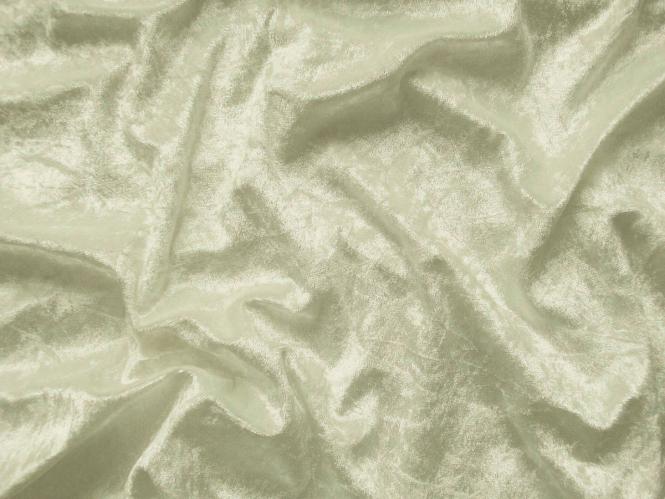Pannesamt uni L724-1561, Farbe 1561 creme