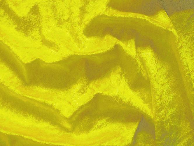 Pannesamt uni L724-16, Farbe 16 gelb