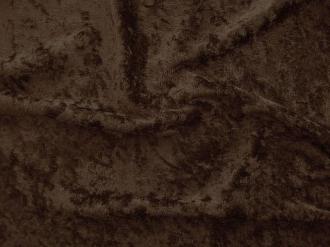 Pannesamt uni L724-1777, Farbe 1777 dunkelbraun