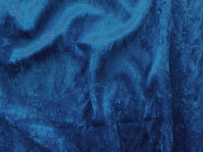 Pannesamt uni L724-55, Farbe 55 königsblau