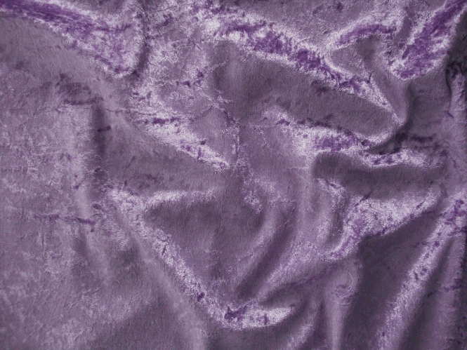 Pannesamt uni L724-58, Farbe 58 lila