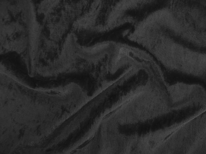Pannesamt uni L724-99, Farbe 99 schwarz