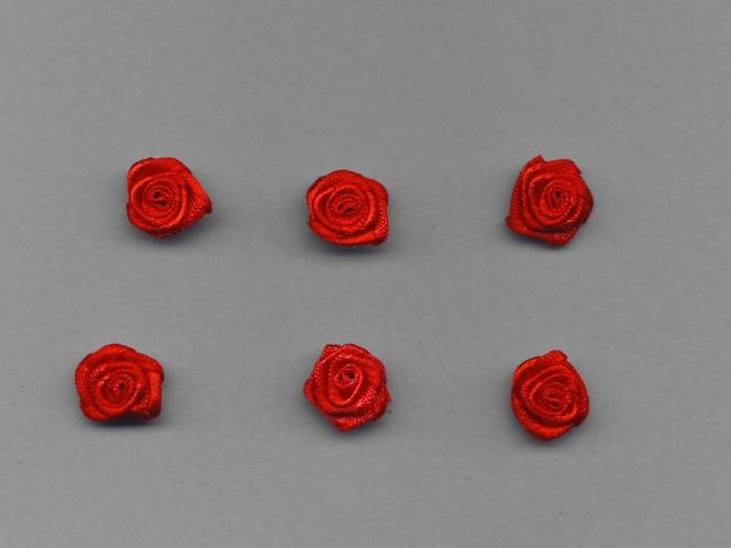 Satinrose R104-235, Farbe rot