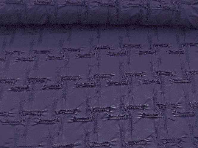 Couture-Stoff mit elastischer Raffung Nr. 99-025-C in dunkel-lila
