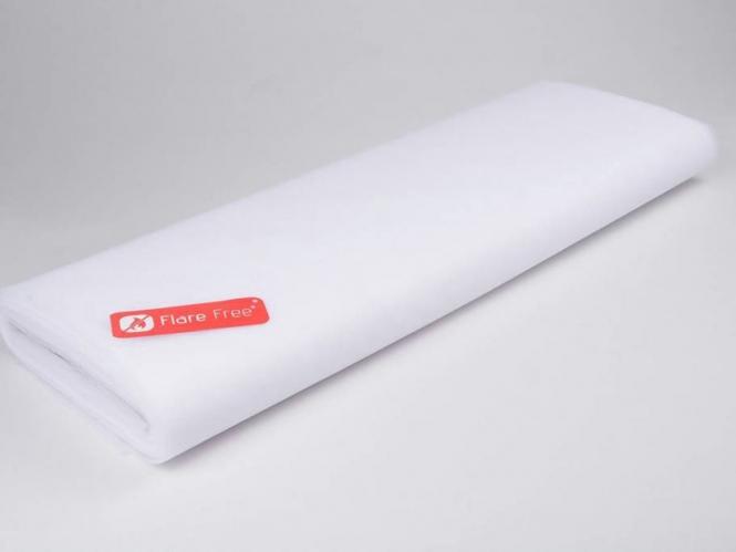 Tüllstoff - Tüll uni L722-01, Farbe 01 White