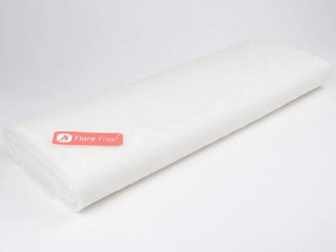 Tüllstoff - Tüll uni L722-02, Farbe 02 Silk White