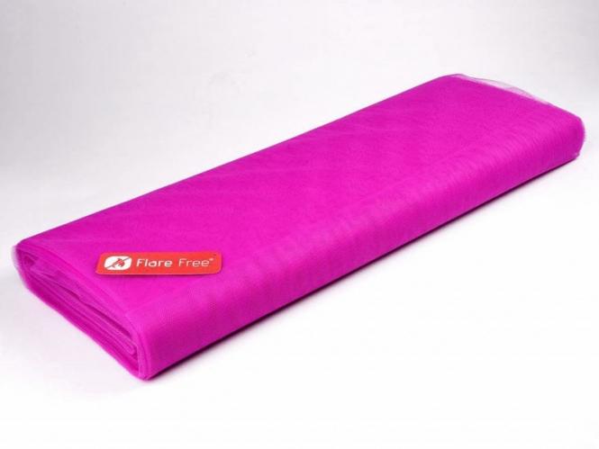 Tüllstoff - Tüll uni L722-17, Farbe 17 Fluorescent Pink