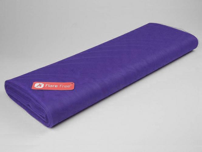 Tüllstoff - Tüll uni L722-22, Farbe 22 Blue Purple