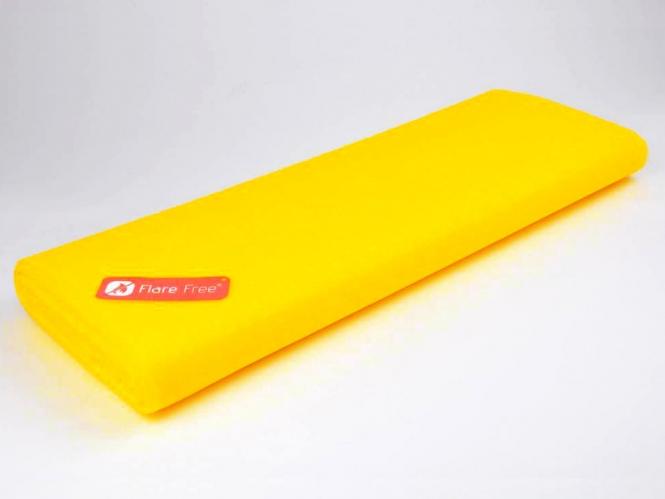 Tüllstoff - Tüll uni L722-33, Farbe 33 Fluorescent Honey
