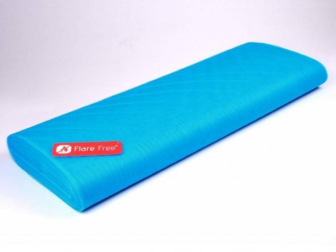 Tüllstoff - Tüll uni L722-42, Farbe 42 Fluorescent Blue