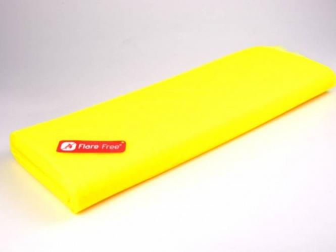 Tüllstoff - Tüll uni L722-43, Farbe 43 Fluorescent Citrone