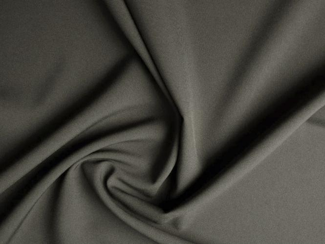 Pflegeleichter Universalstoff - Bi-Stretch L716-47, Farbe 47 dunkelgrau