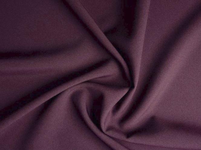 Pflegeleichter Universalstoff - Bi-Stretch L716-78, Farbe 78 aubergine