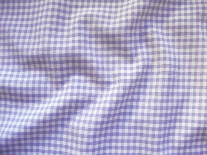 Vichy-Stoff - Karostoff L742-007 - 4 mm - Farbe lila