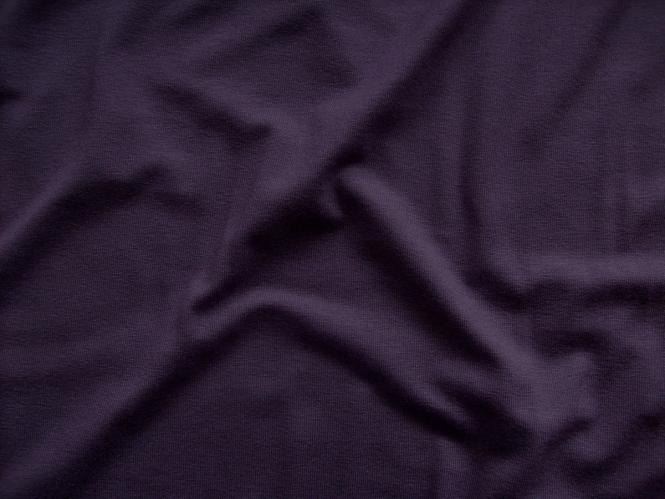 Viskose-Jersey uni N2194-147, Farbe 147 aubergine