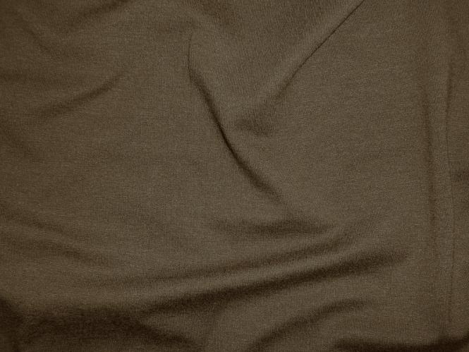 Viskose-Jersey uni N2194-154, Farbe 154 dunkelbraun