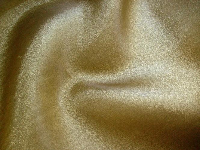 Weihnachtsorganza Crystal RS0025-013 in gold mit feinem Glitzereffekt