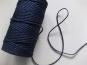 Baumwollkordel geflochten Nr. 6978172-07, Farbe 07 marine