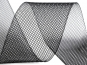 Crinoline Versteifungsband fest S750344-07, Breite 5 cm, Farbe 07 schwarz