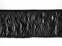 Fransenborte schwarz 8547-10, Breite ca. 9,5 cm