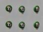 Jim Knopf Glas-Fliegenpilz Nr. 10782-01, Farbe 01 grün